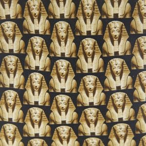 King Tut Mens Necktie Tutankhamun Silk Novelty Tie